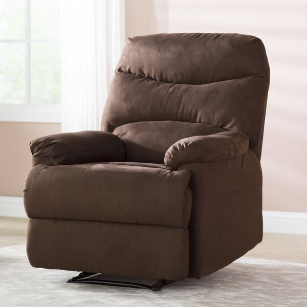 Tenterden Contemporary Microfiber Manual Recliner by Andover Mills