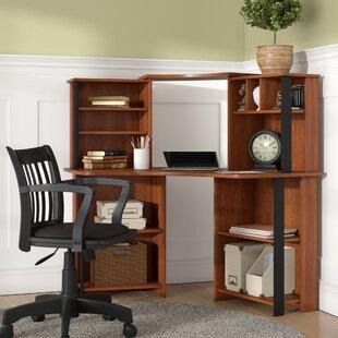 Reviews Hibbler Computer Desk with Hutch ByWinston Porter