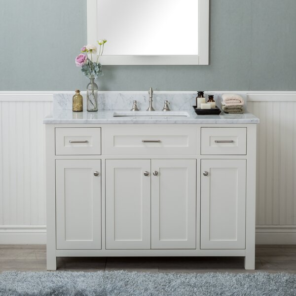 Riggs 48 Single Bathroom Vanity by Charlton Home