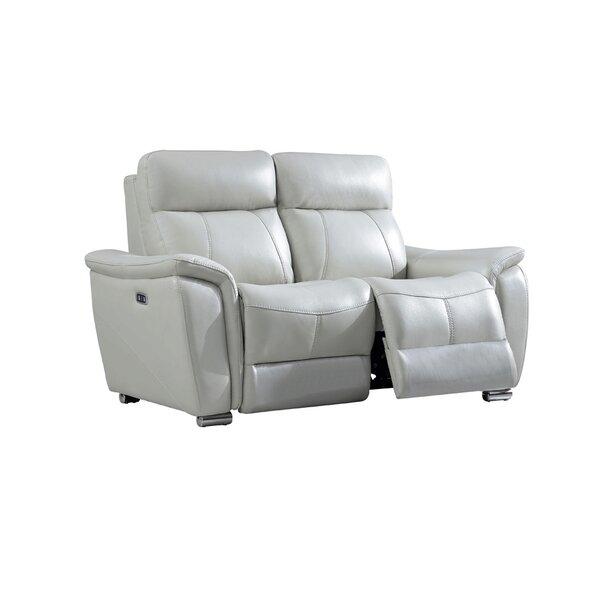 Sobotka 2 Piece Leather Reclining  Living Room Set By Orren Ellis