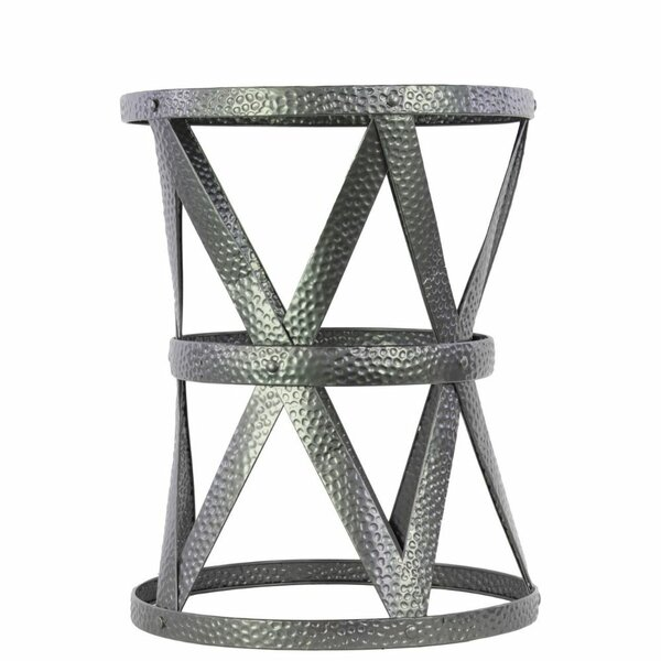 Darrick Compass Metal Garden Stool by Williston Forge
