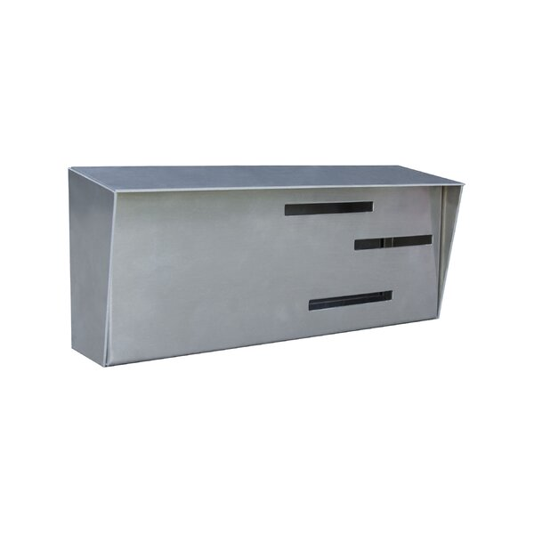 Locking Wall Mounted Mailbox by Modern Mailbox
