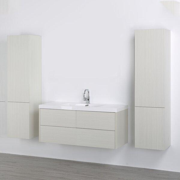 47 Wall-Mounted Single Bathroom Vanity Set by Streamline Bath