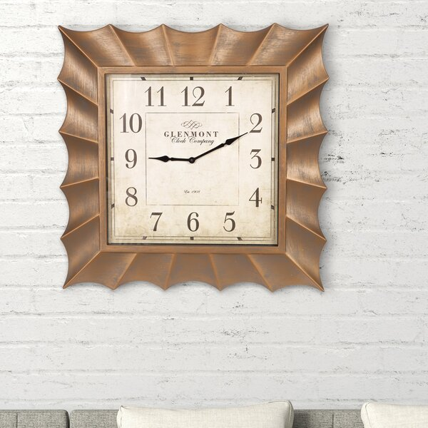 Scallop Framed Wall Clock by Nielsen Bainbridge
