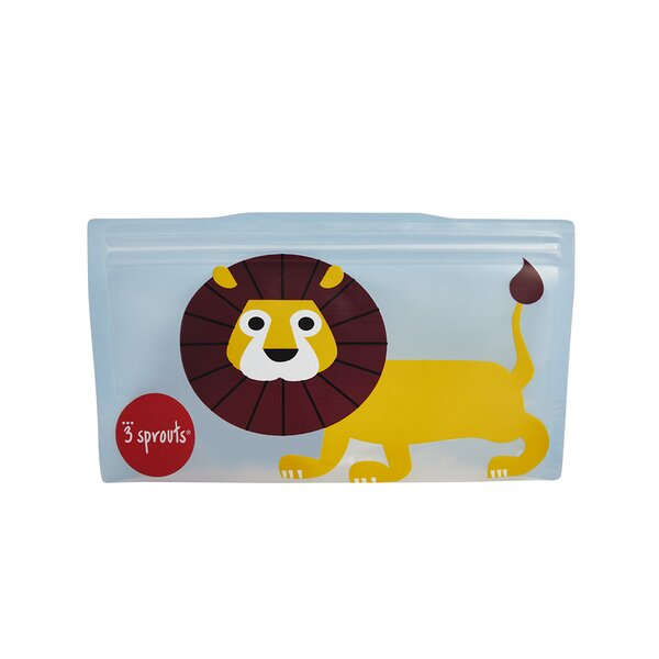 Lion Snack Bag (Set of 2) by 3 Sprouts