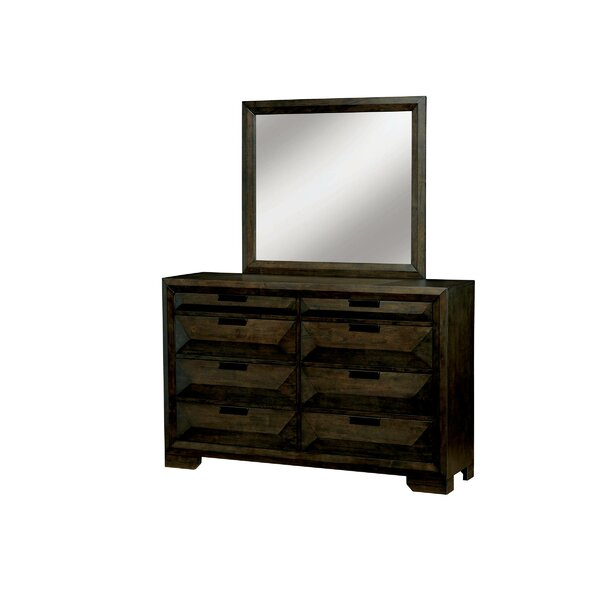 Mitchell 8 Drawer Double Dresser by Union Rustic