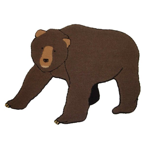 Cabin Bear Area Rug by Patch Magic