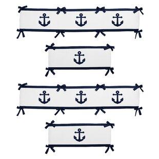 Coupon Anchors Away Crib Bumper BySweet Jojo Designs