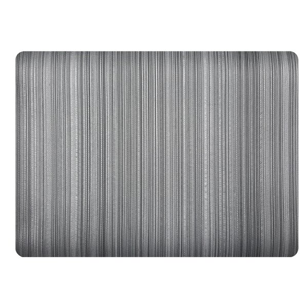 Stripes Rectangle Placemat (Set of 4) by Dasco