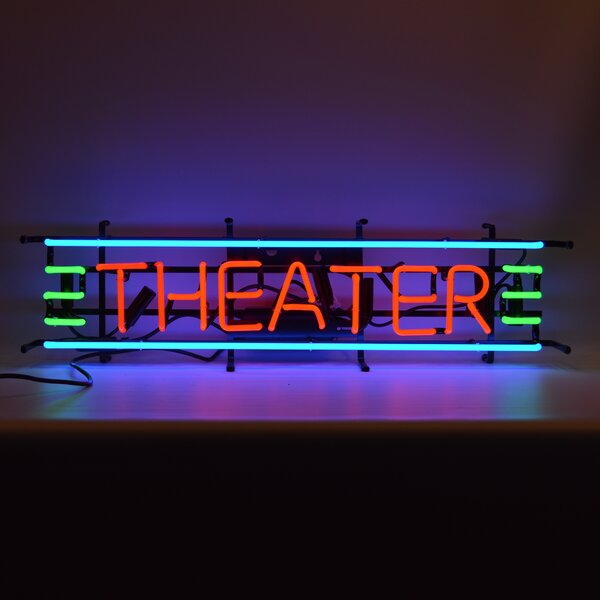 Theater Neon Sign by Neonetics