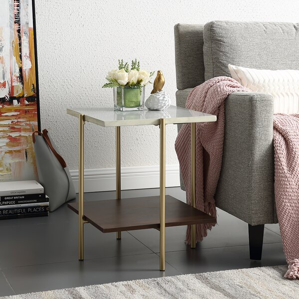 Belcher End Table by Wrought Studio