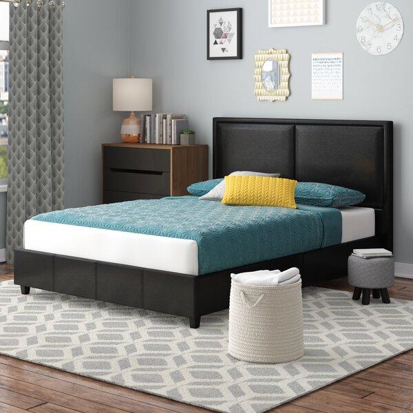 Alvin Upholstered Platform Bed by Wade Logan
