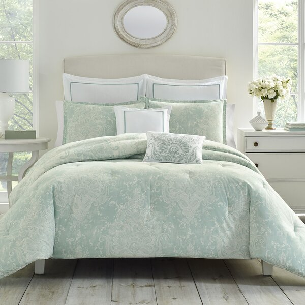 Maddox Cotton 7 Piece Reversible Comforter Set by Laura Ashley Home by Laura Ashley Home