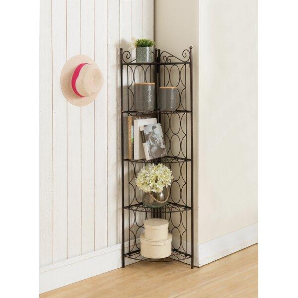 Shen Corner Bookcase By Fleur De Lis Living