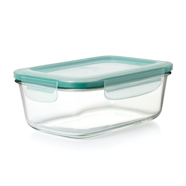 Good Grips Snap Glass Rectangle 64 Oz. Food Storage Container by OXO