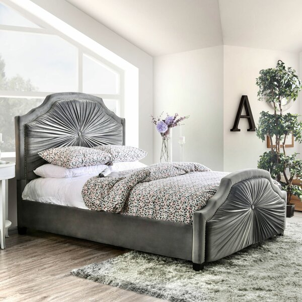 Carina Upholstered Platform Bed by Rosdorf Park