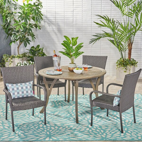 Arend 5 Piece Dining Set by Wrought Studio