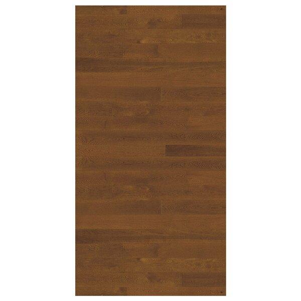 Linnea 4-5/8 Engineered Oak Hardwood Flooring in Nougat by Kahrs