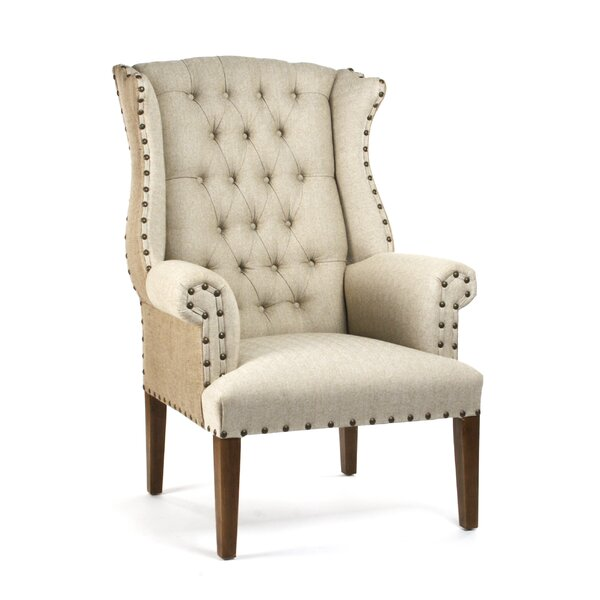 Wingback Chair by Zentique