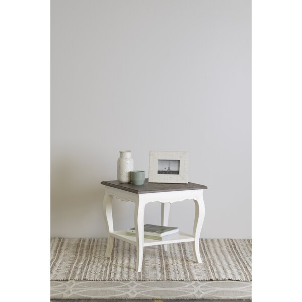 Savion End Table by Ophelia & Co.