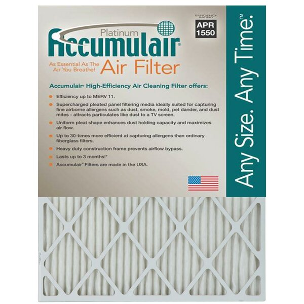 Air Filter (Set of 4) by Accumulair