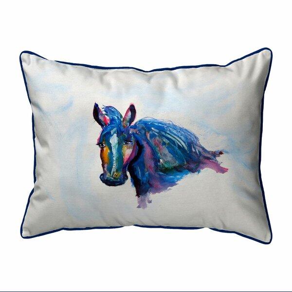 Ratley Old Mare Zippered Indoor/Outdoor Lumbar Pillow
