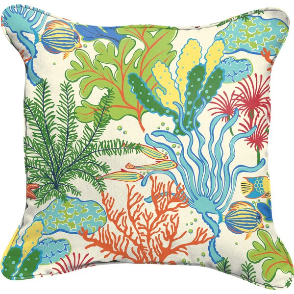 Evadne Indoor/Outdoor Throw Pillow (Set of 2) by Bayou Breeze