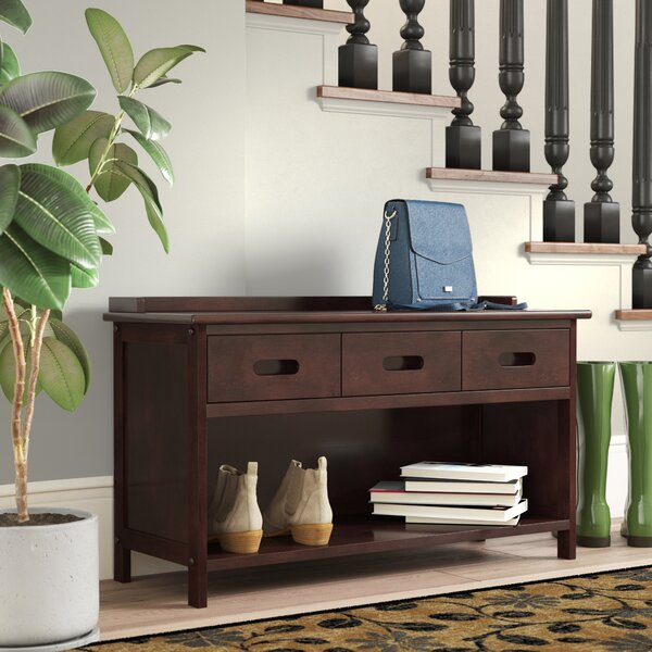 Duncan 3 Drawer Storage Bench by Alcott Hill