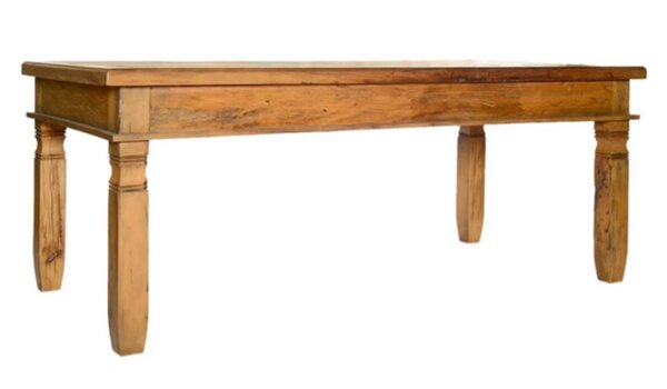Minas Solid Wood Dining Table by Alexandra Sophia Reclaimed