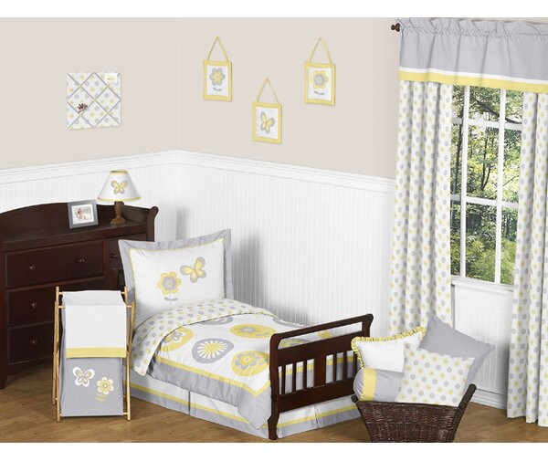 Mod Garden 5 Piece Toddler Bedding Set by Sweet Jojo Designs