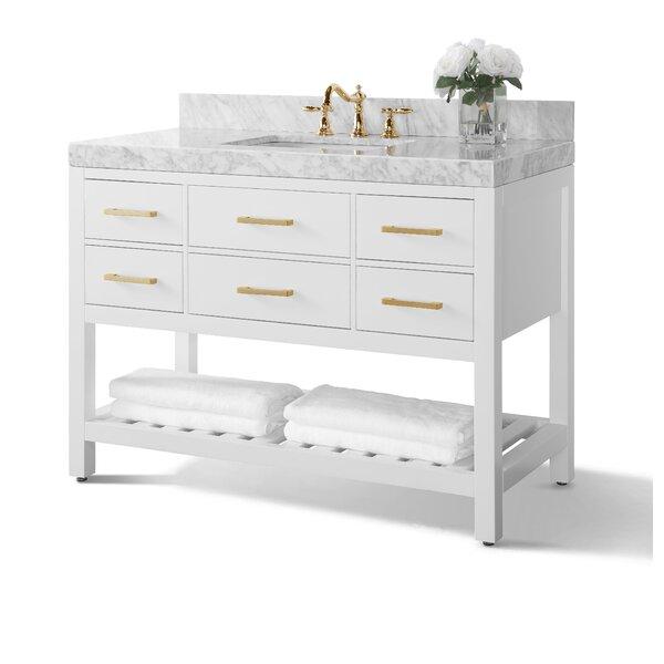 Jauss 48 Single Bathroom Vanity Set by Mercer41