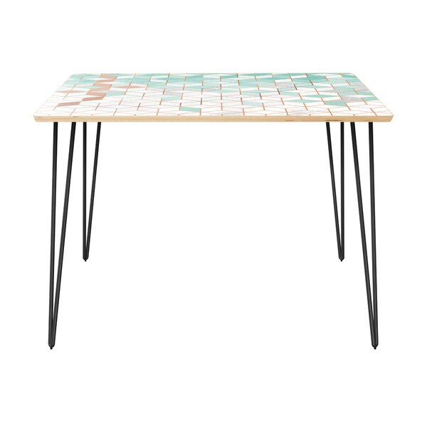 Olstykke-Stenlose Dining Table by Bungalow Rose