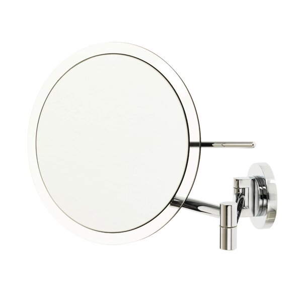 5x Rimless Wall Mounted Mirror by Danielle Creations