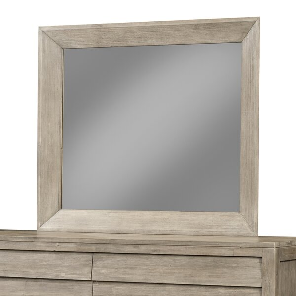 Rectangular Dresser Mirror by Union Rustic