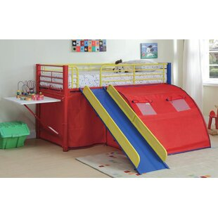 Lancelot Twin Low Loft Bed By Zoomie Kids