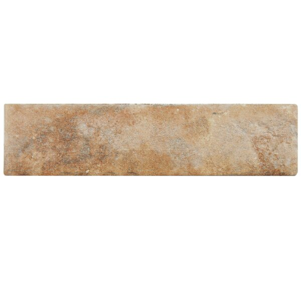 Lincoln 2.5 x 10 Porcelain Field Tile in Brown by EliteTile