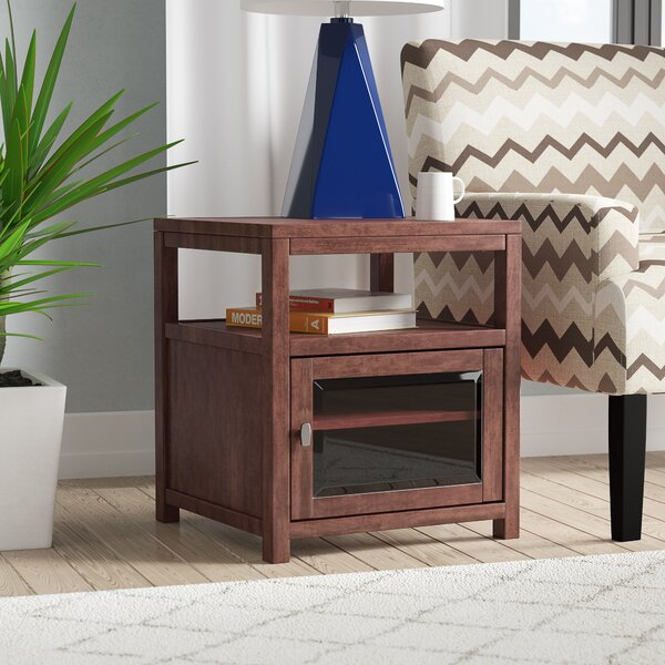 Erskine End Table With Storage By Latitude Run