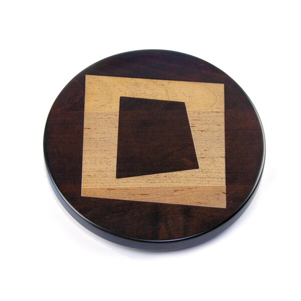Artisan Woods Abstract Square Trivet by Martins Homewares