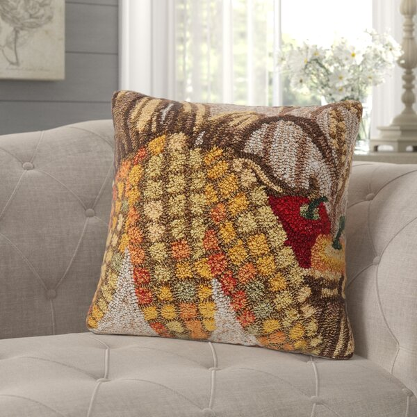 Treport Corn Indoor/Outdoor Throw Pillow by August Grove