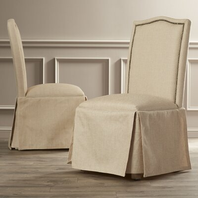 Skirted Parsons Chairs Dining Room Furniture | Birch Lane Skirted Parson Chair Reviews Wayfair