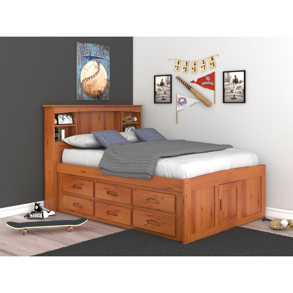 Fulvia Mates Bed With Bookcase And 6 Drawers By Birch Lane™ Heritage by Birch Lane™ Heritage Great Reviews