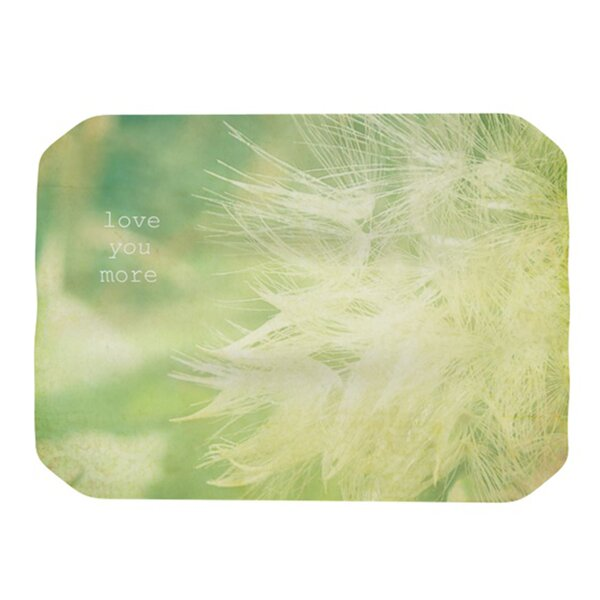 Love You More Placemat by KESS InHouse