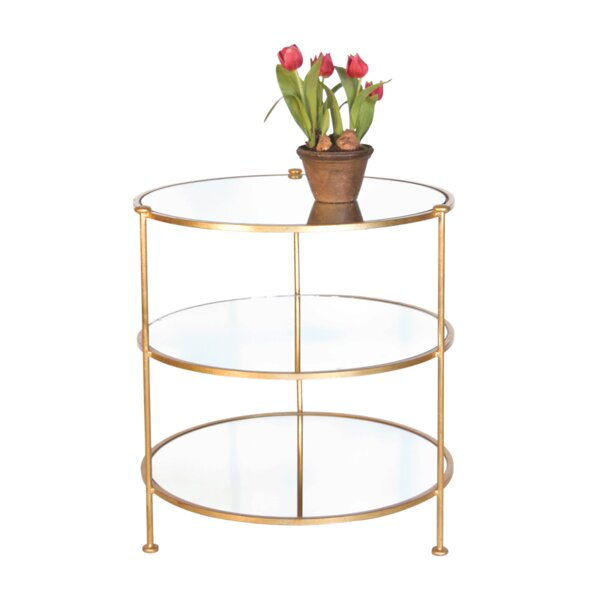 3 Tier End Table by Worlds Away