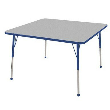 Thermo-Fused Adjustable 48 Square Activity Table by ECR4kids