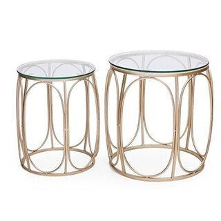 2 Piece Nesting Tables by Adeco Trading SKU:CD525686 Price Compare