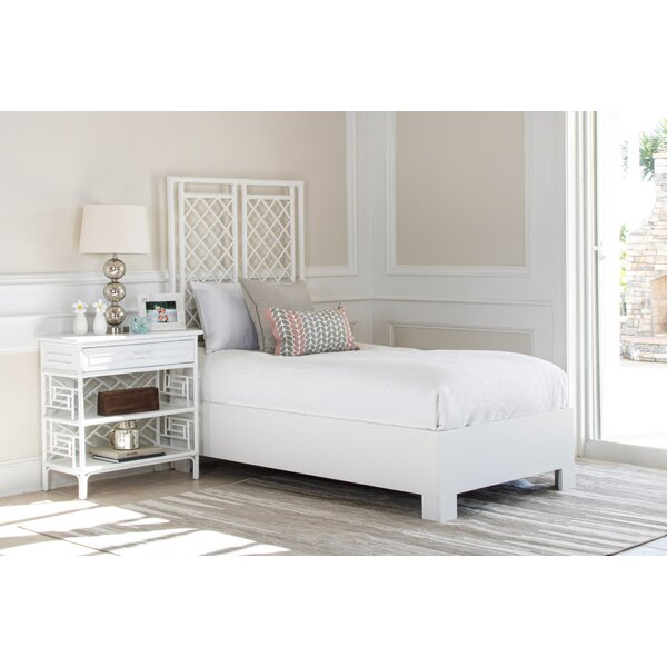 X and Diamond Standard Bed by David Francis Furniture