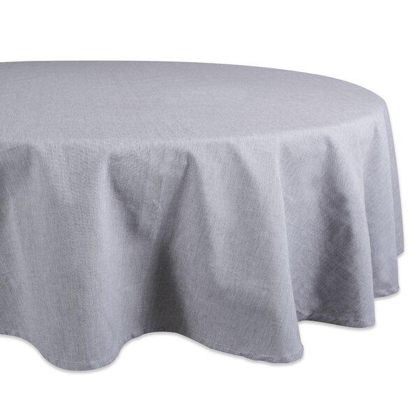 Briar Solid Chambray Tablecloth by Gracie Oaks