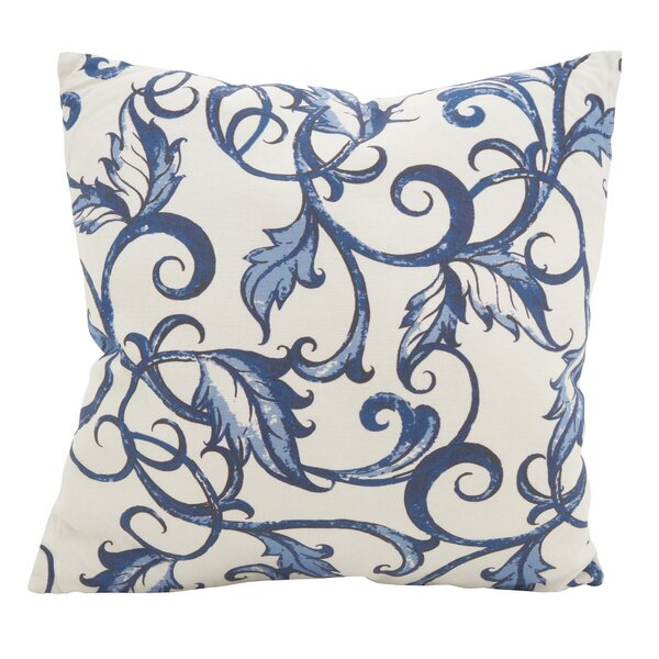 Keeble Vivid Vines Cotton Throw Pillow by Charlton Home