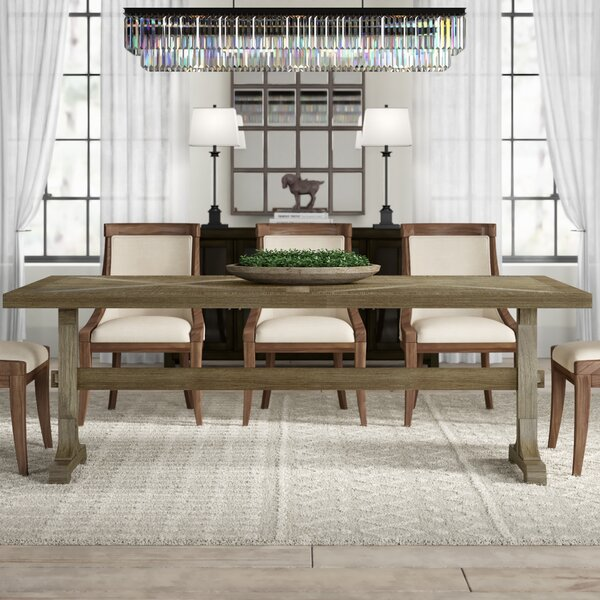 Katharina Mango Solid Wood Dining Table By Gracie Oaks
