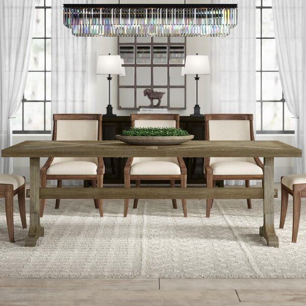 Katharina Mango Solid Wood Dining Table by Gracie Oaks Gracie Oaks
